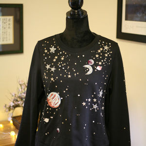 Anthropologie space sweater